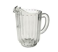 Where to find PLASTIC WATER BEER PITCHER 60OZ in Orange County
