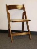Rental store for FRUITWOOD FOLDING CHAIR in Orange County CA