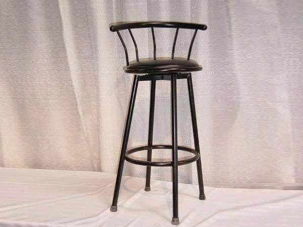 Where to find CHAIR, BLACK BARSTOOL in Orange County
