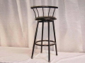 Rental store for CHAIR, BLACK BARSTOOL in Orange County CA