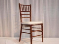 Rental store for FRUITWOOD CHIAVARI CHAIR in Orange County CA