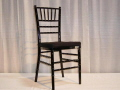 Rental store for BLACK CHIAVARI CHAIR in Orange County CA