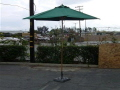 Rental store for 9  MARKET UMBRELLA HUNTER GREEN W BASE in Orange County CA