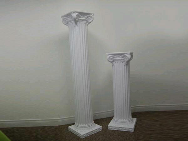 Where to find WEDDING COLUMN 4  WHITE in Orange County