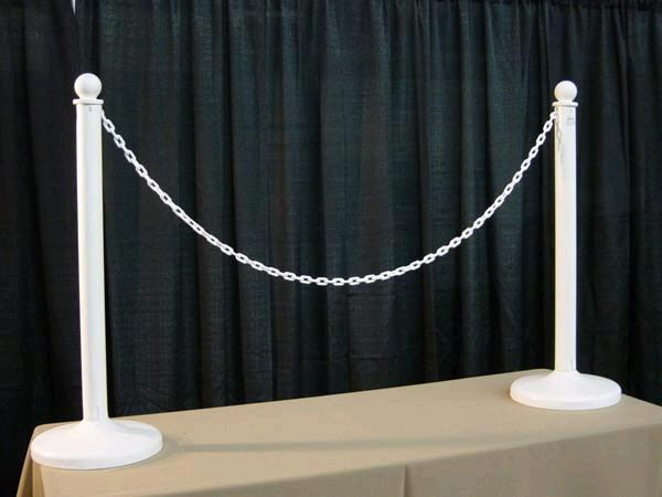 Where to find WHITE PLASTIC STANCHION in Orange County
