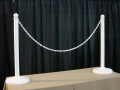 Rental store for WHITE PLASTIC STANCHION in Orange County CA