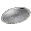 Rental store for 18  CHROME PLATED OVAL TRAY in Orange County CA