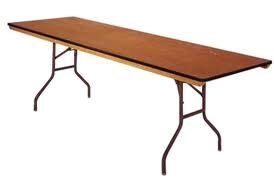 Where to find RECTANGULAR, 8  x 30  TABLE  SEATS 10 in Orange County