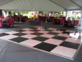Rental store for 12 X 12 BLACK   WHITE DANCE FLOOR in Orange County CA