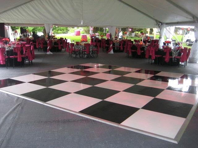 Where to find 15 X 16 BLACK   WHITE DANCE FLOOR in Orange County