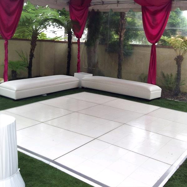 Where to find 9 X 12 SOLID WHITE DANCE FLOOR in Orange County