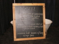 Rental store for VINTAGE CHALK BOARD in Orange County CA
