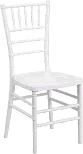 Where to find WHITE CHIAVARI CHAIR WITH PAD in Orange County