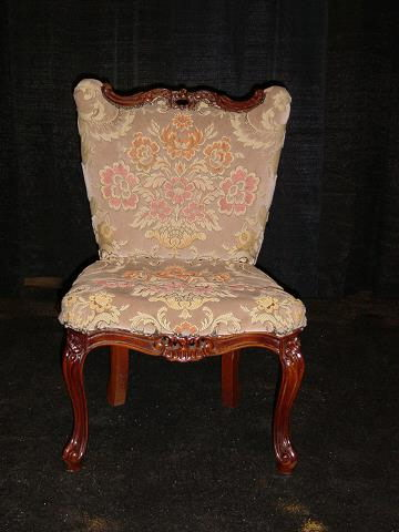 Where to find VINTAGE FLORAL CHAIR in Orange County