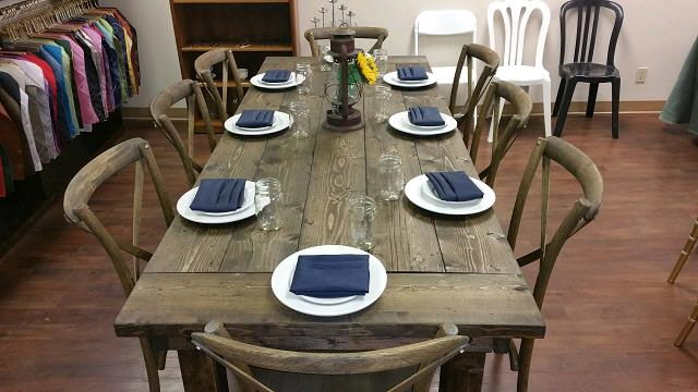 Where to find FARM HOUSE TABLE in Orange County